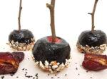 Kandierte Äpfel zum Black Friday vom November auf dem Frohkost-Blog
